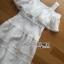 ชุดเดรสเกาหลี พร้อมส่งเดรสยาวเปิดไหล่ผ้าคอตตอนผสมซิลค์สีขาวประดับลูกไม้ thumbnail 7