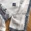 เสื้อผ้าแฟชั่น พร้อมส่งเสื้อผ้าชีฟองสีขาวปักลายตกแต่งทรงระบาย thumbnail 12