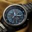 นาฬิกา Seiko Chronograph Solar Watch V172 SSC079 สายสแตนเลสรมดำ thumbnail 10
