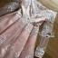 ชุดเดรสเกาหลี พร้อมส่งเดรสทรงเปิดไหล่ผ้าลูกไม้สีขาวทับผ้าสีชมพูโอลโรส thumbnail 14