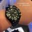 SEIKO SRP583K1 Seiko Monster Automatic นาฬิกาข้อมือผู้ชาย สีดำทอง สายสแตนเลส thumbnail 10