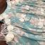 เสื้อผ้าเกาหลี พร้อมส่งFloral Top + Lace Pant Set thumbnail 4