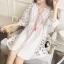 ชุดเดรสเกาหลี พร้อมส่งMini dress สไตส์สาวโมฮีเมี่ยน thumbnail 5