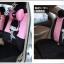 ชุดคลุมเบาะรถยนต์ลายการ์ตูนผู้หญิง (สีชมพู-ดำ) thumbnail 2