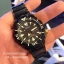SEIKO SRP583K1 Seiko Monster Automatic นาฬิกาข้อมือผู้ชาย สีดำทอง สายสแตนเลส thumbnail 8