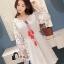 ชุดเดรสเกาหลี พร้อมส่งMini dress สไตส์สาวโมฮีเมี่ยน thumbnail 6