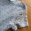 ชุดเดรสเกาหลี พร้อมส่งเดรสผ้าลูกไม้ตกแต่งคอตตอนจับพลีตสีฟ้าอ่อนสไตล์เฟมินีน thumbnail 12