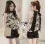 เสื้อผ้าเกาหลี พร้อมส่งLady Emily Floral Printout set thumbnail 11