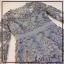 ชุดเดรสแฟชั่นพร้อมส่ง Dress ลูกไม้แขนยาวตัดขอบเอวด้วยสีพื้น thumbnail 4