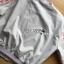 เสื้อผ้าเกาหลี พร้อมส่งบอมเบอร์แจ็กเก็ตผ้าคอตตอนปักลายดอกไม้สไตล์สปอร์ต thumbnail 12