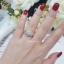พร้อมส่ง Diamond Ring งานเพชรสวิส งานชุบ 5 ไมครอน thumbnail 6