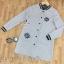 เสื้อผ้าเกาหลี พร้อมส่งเสื้อแจ็คเก็ตเบสบอลตัวยาวเนื้อผ้านิ่มใส่สบาย thumbnail 16