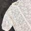 เสื้อผ้าแฟชั่น พร้อมส่งKorean Summer Time Lace Shirt thumbnail 9