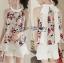 เสื้อผ้าเกาหลี พร้อมส่งLady Emily Floral Printout set thumbnail 6