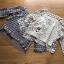 เสื้อผ้าเกาหลีพร้อมส่ง เสื้อผ้าลูกไม้ทอลายดอกไม้พร้อมซับในสายเดี่ยว thumbnail 11