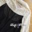 เสื้อผ้าเกาหลีพร้อมส่ง เสื้อแขนยาวแต่งลูกไม้ See Through thumbnail 10