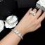 พร้อมส่ง Pearl Bracelet & Ring กำไลเพชร CZ แท้ประดับมุก thumbnail 1