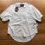เสื้อผ้าเกาหลีพร้อมส่ง เสื้อผ้าคอตตอนสีขาวปักและฉลุลายสไตล์วินเทจ thumbnail 8