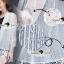 เสื้อผ้าเกาหลี พร้อมส่งเสื้อคลุมงานสวยหรูหราด้วยผ้าลูกไม้แบบซีทรู thumbnail 4