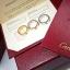 พร้อมส่ง Love4 diamond Ring แหวนรุ่นLOVE เพชร4เม็ด ฝังCZ8A thumbnail 3