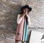 เสื้อผ้าเกาหลี พร้อมส่ง ผ้าคลุมไหล่แบรนด์ GUCCI เนื้อผ้าสวยมาก thumbnail 7