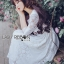 Jena Little Princess Classic White Lace Dress thumbnail 5