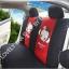 ชุดหุ้มเบาะลาย Monkey Mexi (สีดำ-แดง) thumbnail 3