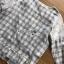 เสื้อผ้าเกาหลี พร้อมส่งเซ็ตชุดนอนผ้าคอตตอนลายตารางสีพาสเทล thumbnail 14