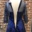 ชุดเดรสเกาหลี พร้อมส่งGalaxy Diamond Luxury Dress thumbnail 10