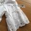 เสื้อผ้าเกาหลี พร้อมส่งเสื้อผ้าคอตตอนปักและฉลุลายตกแต่งเลื่อมสุดหวาน thumbnail 11