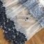 ชุดเดรสเกาหลี พร้อมส่งเดรสผ้าลูกไม้สลับลายทางโทนสีฟ้า-น้ำเงิน thumbnail 12
