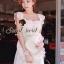 ( พร้อมส่งเสื้อผ้าเกาหลี) Korea Party Lux Long Maxi-Dress by Seoul Secret thumbnail 2