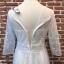 ชุดเดรสเกาหลี พร้อมส่งlong dress ผ้ามุ้งแขน 5 ส่วน thumbnail 11