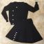 เสื้อผ้าเกาหลี พร้อมส่งParisian Luxury Winter Black Wooly Top + Skirt Set thumbnail 4