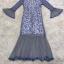 ชุดเดรสเกาหลี พร้อมส่งLong Dress -งดงาม สวยหรูและดูแพงมาก thumbnail 13