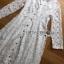 ชุดเดรสเกาหลี พร้อมส่ง เดรสผ้าลูกไม้ติดกระดุมสุดหรู thumbnail 13