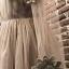 ชุดเดรสแฟชั่น พร้อมส่งVeronica Creamy Dress thumbnail 9
