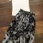 เสื้อผ้าเกาหลี พร้อมส่ง Zara White Top + Black Tiger Line Set thumbnail 9