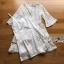ชุดเดรสแฟชั่น พร้อมส่งเดรสผ้าลูกไม้สีขาวสไตล์เฟมินีนเรียบง่าย thumbnail 8