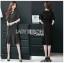 Anastasia Smart Casual Black Peplum Dress thumbnail 4