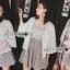 เสื้อผ้าเกาหลี พร้อมส่งเสื้อคลุมทูนิกผ้าลูกไม้สไตล์ลำลอง thumbnail 8