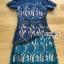 ชุดเดรสเกาหลี พร้อมส่งเดรสผ้าลูกไม้สีน้ำเงินและเขียวสุดเซ็กซี่ thumbnail 9