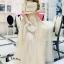เสื้อผ้าเกาหลี พร้อมส่งGolden Lady Embroidered Luxury Top + Long Skirt Set thumbnail 4