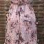 ชุดเดรสเกาหลี พร้อมส่งlong dress สีหวานสายเดี่ยวแบบผูก thumbnail 10