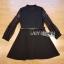 ชุดเดรสเกาหลี พร้อมส่งเดรสผ้าสีดำตกแต่งลูกไม้ thumbnail 9