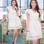 ชุดเดรสเกาหลี พร้อมส่งLuxury Lace Pricess Dress thumbnail 2