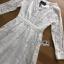 ชุดเดรสเกาหลี พร้อมส่งเดรสผ้าลูกไม้สีขาวตกแต่งกระดุมมุกสไตล์เจ้าหญิง thumbnail 12