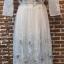 ชุดเดรสเกาหลี พร้อมส่งlong dress ผ้ามุ้งแขน 5 ส่วน thumbnail 9