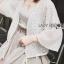 เสื้อผ้าเกาหลี พร้อมส่งเสื้อคลุมทูนิกผ้าลูกไม้สไตล์ลำลอง thumbnail 6