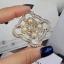 พร้อมส่ง Chanel Brooch & Earring เข็มกลัดและต่างหูเพชรชาแนล thumbnail 2